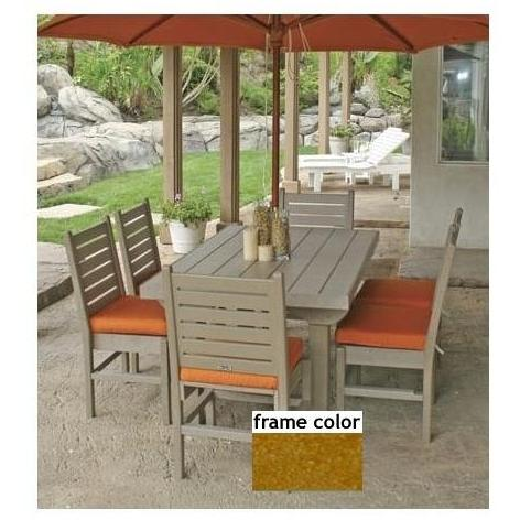 Eagle One Recycled Plastic Cape Cod 60 Inch Patio Dining Se - Cedar