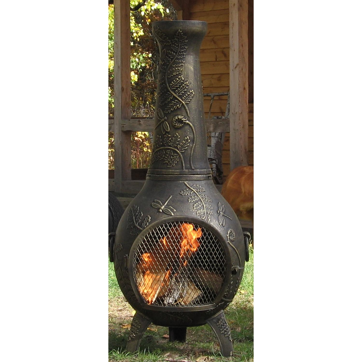 Chiminea Outdoor Fireplace ~ dact.us