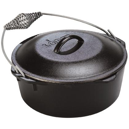 Lodge Dutch Ovens 5 Quart Seasoned Cast Iron Dutch Oven - L8DO3