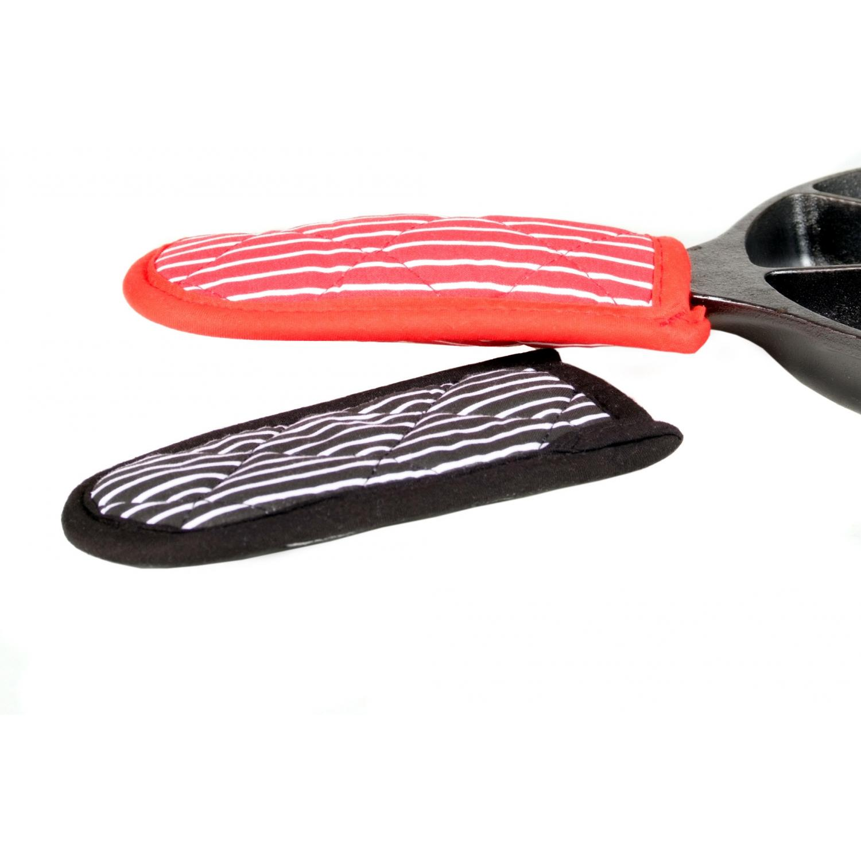 Lodge Hot Handle Holder Set, Red/Black - 2HH2