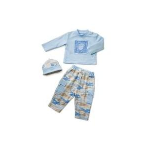 Elegant Baby Camo Fashion Set 6 Month - Blue