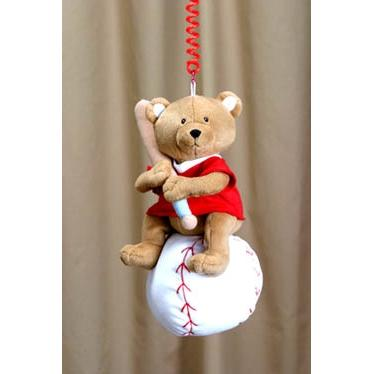 Hanging Baseball Bear