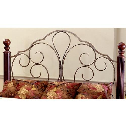 Hillsdale Ardisonne Cherry Headboard With Frame - Full/Queen - 284HFQR