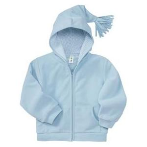 Apples & Oranges Sammi Tassle Hoodie 6-12 Month - Powder Blue