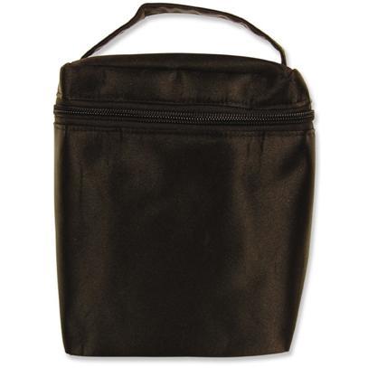 Trend Lab Insulated Bottle Bag - Black Nylon