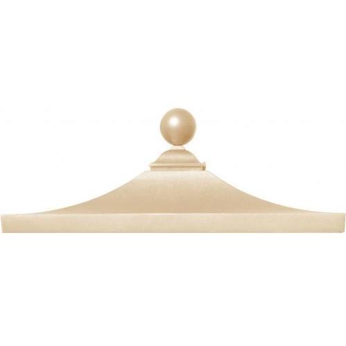 Regency Decorative Top W/ Ball Finial - Sandstone