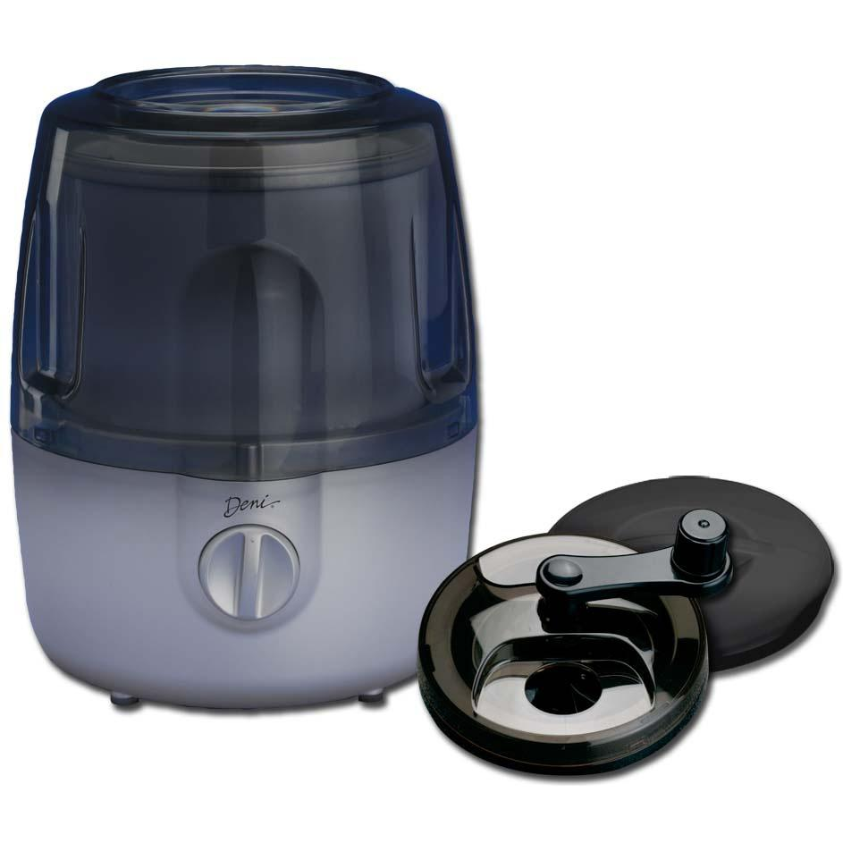 Deni Automatic Ice Cream Maker W/ Candy Crusher - Platinum