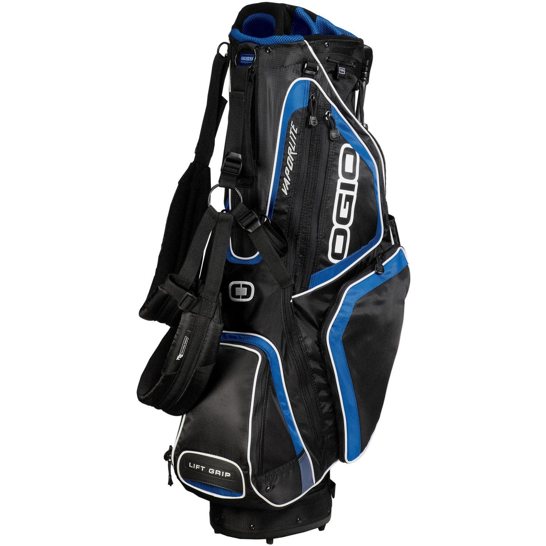 OGIO Vaporlite Stand Golf Bag - Black/True Royal