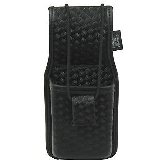Bianchi 7914s Accumold Elite Universal Radio Holder, Basketweave Black