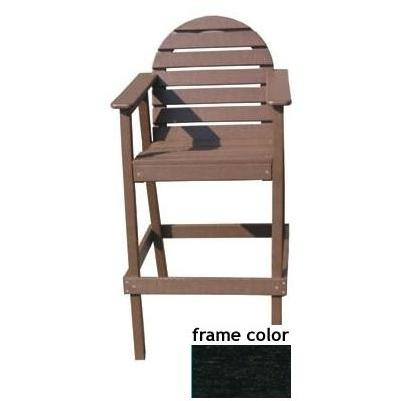 Eagle One Recycled Plastic Captains Chair - Black