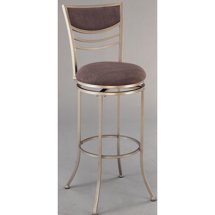 Hillsdale Amherst Champagne Colored Swivel Bar Stool - 4174-830