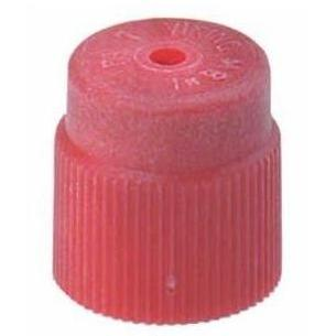 FJC R134A Red High Side Service Port Cap - 100 Pack