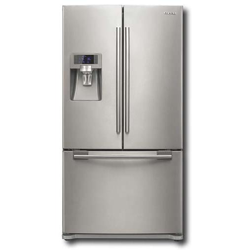 Samsung 23 Cu. Ft. French Door Refrigerator - Stainless Steel - RFG237AARS