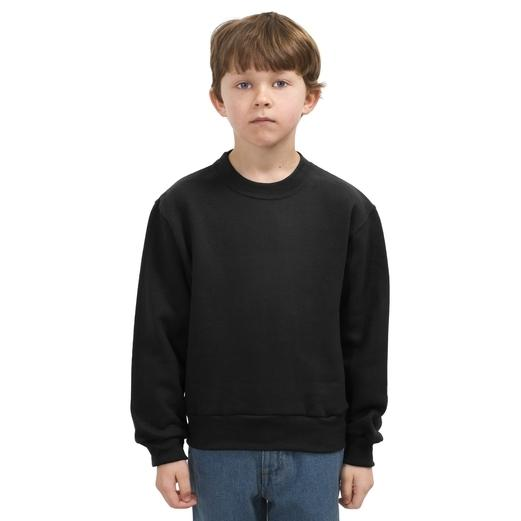 Jerzees Youth Crewneck Sweatshirt Large - Black