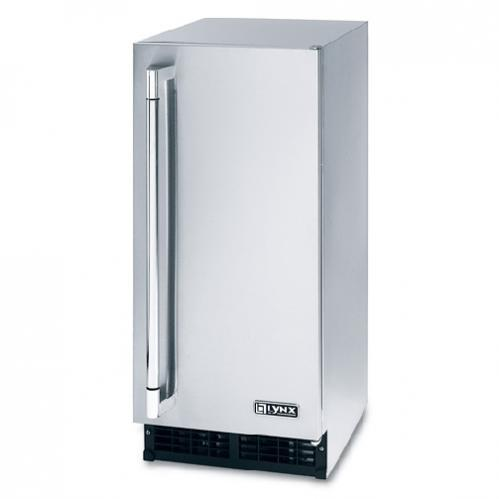 Lynx L15ICE 27 Lb Capacity Outdoor Ice Machine - Stainless Steel