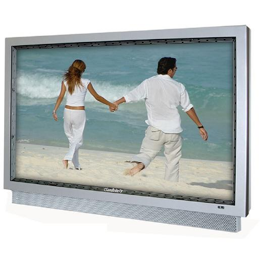 SunBriteTV All-Weather 32-Inch LCD Outdoor HDTV With Articulating Wall Mount, Remote & Cover - Marine White