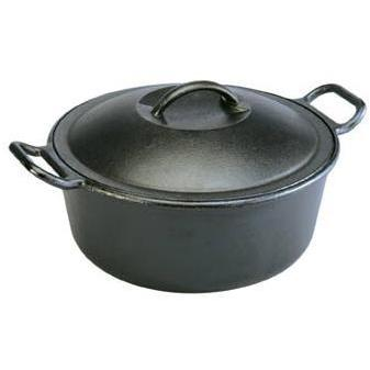 Lodge Dutch Ovens Pro Logic 4 Quart Cast Iron Dutch Oven - P10D3