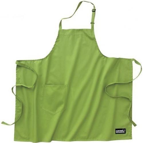 Chefwear Organic Cotton Bib Apron - Avocado