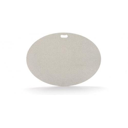 The Original Grill Pad - Oval, Gray