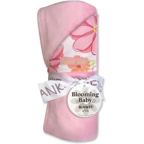 Trend Lab Velour Baby Blanket - Hula Baby
