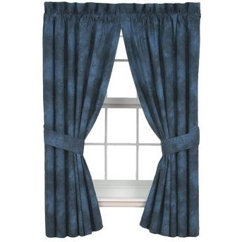 Karin Maki Window Curtain - Caribbean Coolers Indigo