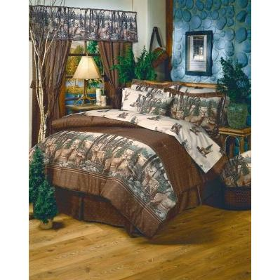 Blue Ridge Trading Window Curtain - Whitetail Dreams