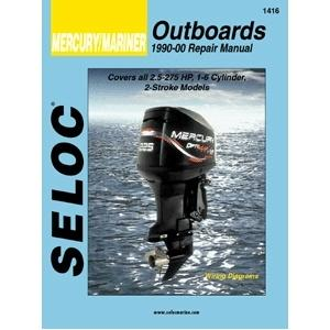 Seloc Service Manual - Mercury/Mariner - 2 Stroke - 1990-00