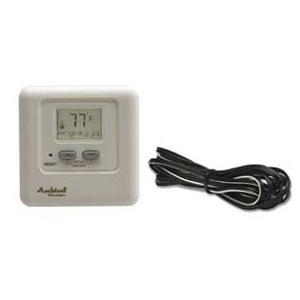 Ambient Technologies Millivolt On/Off Wired Digital Wall Thermostat With 25 Ft. Wiring