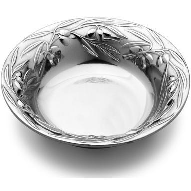 Wilton Armetale Olive 12-1/2 Inch Round Bowl/Polished/bx - 234184