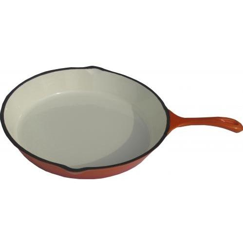 Cast Iron Enamel Skillets