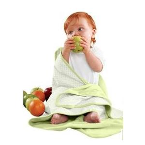 Apples & Oranges Jordan Baby Blanket - Green Grapes