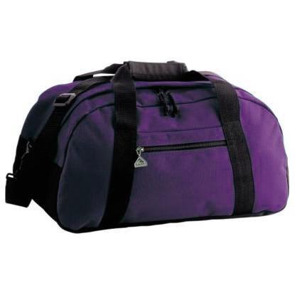 Augusta Ripstop Medium Duffel Bag - Purple/black
