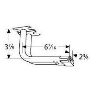 Galvanized Steel L-Shaped Venturi 75802, Discount ID 75802