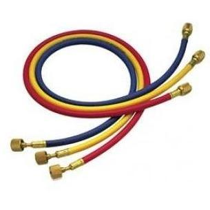 Mastercool Set Of Three 72 Inch R134a Charging Hoses