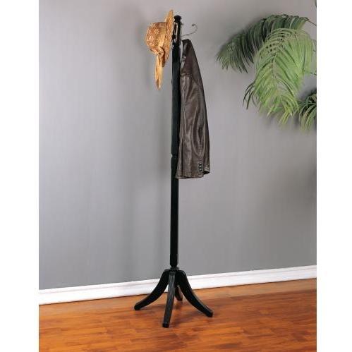 Powell Furniture - Contemporary Merlot Coat Rack - 383-274