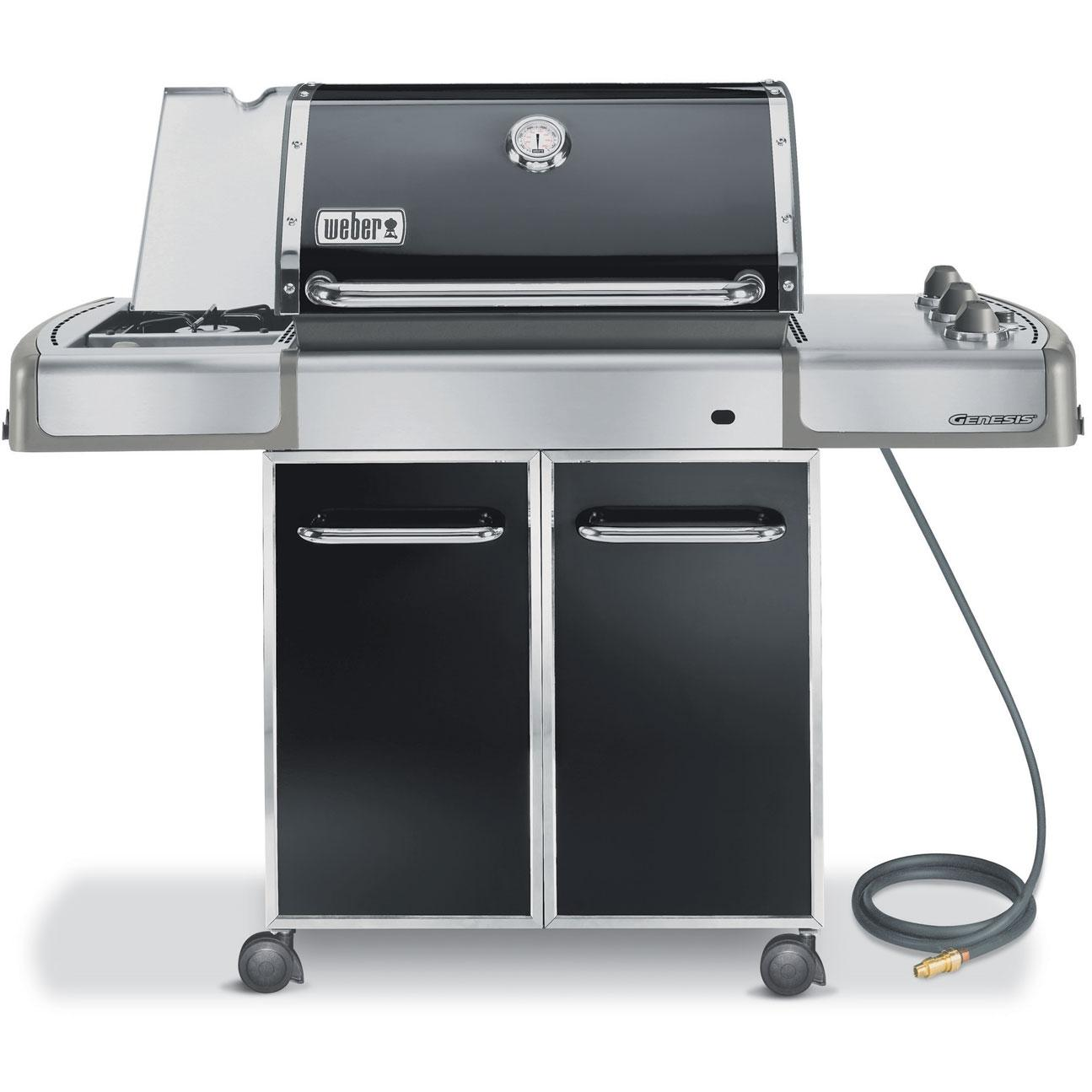 Weber Gas Grills Genesis E-320 Natural Gas Grill - Black