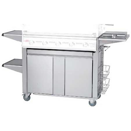 Beefeater Signature Plus Trolley Cart For 5 Burner Gas Grill