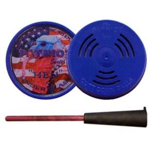 Cutt Down Game Calls The PATRIOT ACRYLIC FRICTION TURKEY CALL GLASS thumbnail