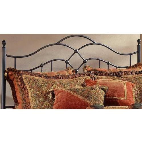 Hillsdale Oklahoma Bronze Metal Headboard With Frame - Full/Queen - 1300HFQR