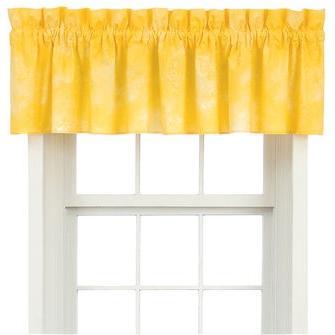 Karin Maki Window Valance - Caribbean Coolers Banana