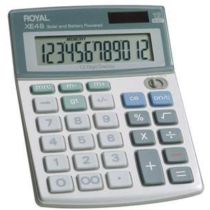 COMPACT DESKTOP SOLAR CALCULATOR