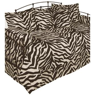 Karin Maki Zebra Bolster Pillow - Brown