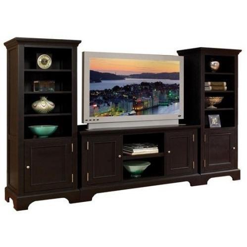 Home Styles Bedford 3 Piece Entertainment Unit - Ebony - 5531-34