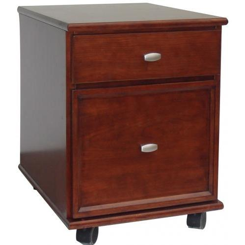 Home Styles Hanover Mobile File - Cherry - 5532-01