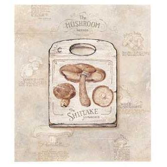 Mushroom Poster Print