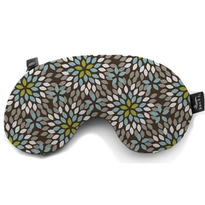 Bucky Bamboo Minnie Travel Pillow - Dahlias