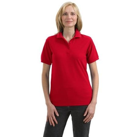 Port Authority Ladies Silk Touch Sport Shirt XL - Red