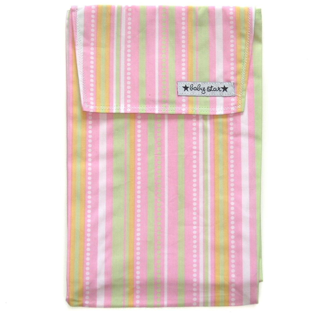 Baby Star Quick Change Diaper Pouch - Confetti Pink.