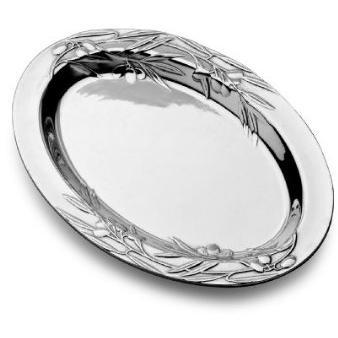 Wilton Armetale Olive 16 Inch Oval Tray/Polished/bx - 234054