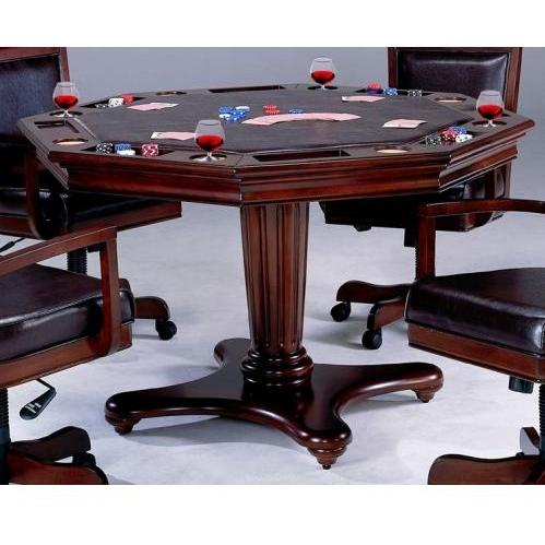 Hillsdale Ambassador Game Table - Rich Cherry - 6124GTB